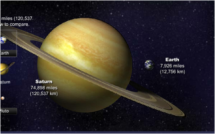 Size Comparison with Jupiter & Earth - Our Solar System